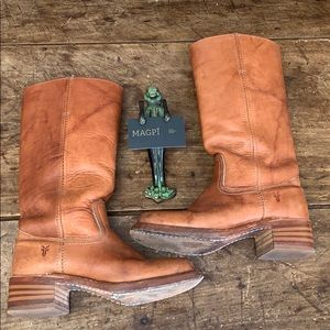 Frye Tall Distressed Wanderer / Road West Boots